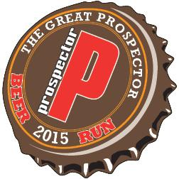 The Great Prospector Beer Run Logo