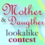 Mother and Child Lookalike contest